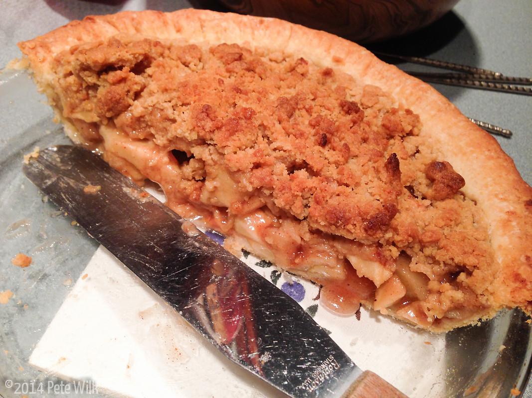 Mom\'s apple pie.