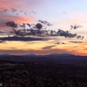 Awesome sunset over Canyonlands National Park.