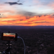 View of the time lapse going on the iPhone 7.