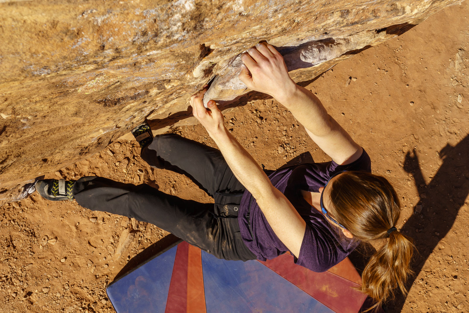 Carly on the easy but big moves of this problem.