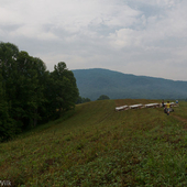 Mountains of West Virginia from Rainbow Farm