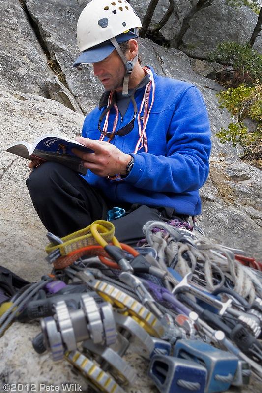 Steve checking the beta on Commitment (5.9)