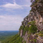 Gunks on a picture perfect day.