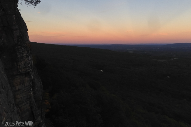 While there's little relief except for the ridgeline I'm on, this place is beautiful.
