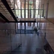 Interior of Blue Ice HQ.