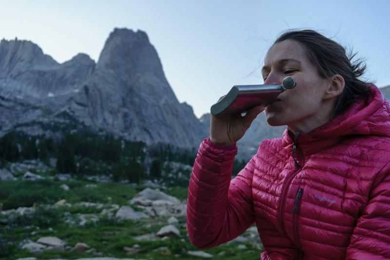 18 yo Glenmorangie is pretty tasty at 10000\' in the alpine.