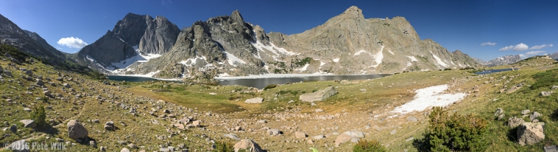 From our stopping point near Temple Lake.  Amazing alpine environment.