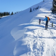 Kevin getting about as close to a monster cornice as he\'d like.