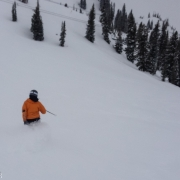 Fresh lift served powder in May!