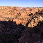Our camp and climbing were up the main canyon heading off to the left.