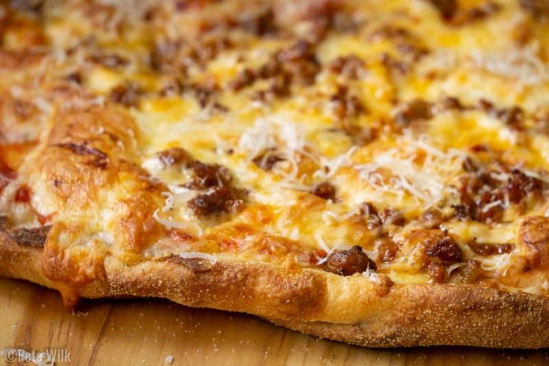 Just look at that super thin crust.