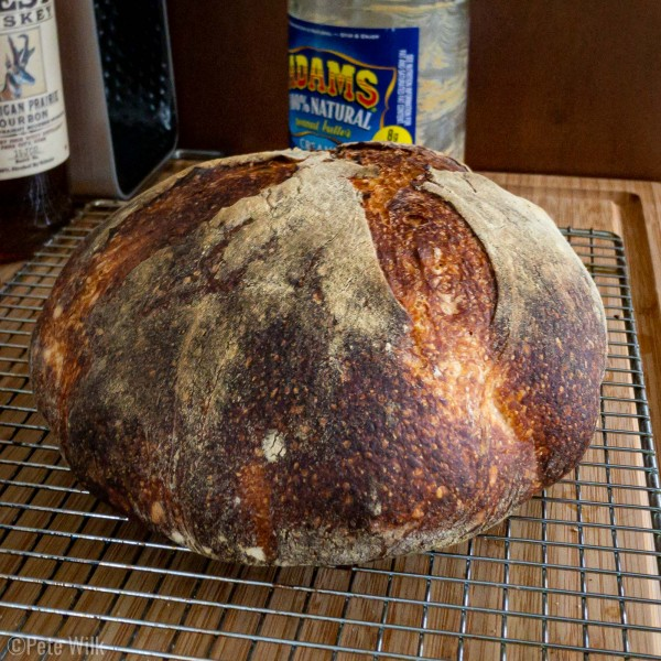 Ta-da!  Once you go to baking bread in a dutch oven pot you never go back.