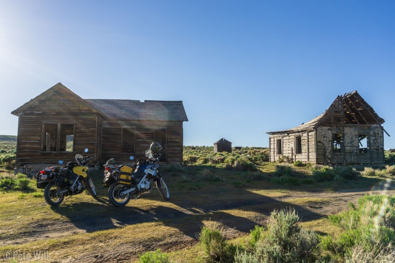 """Some aging buildings from Piedmont, UT.  This """"town"""" was started to convert wood from the Uintas, brought on the Trans-continental Railway, into charcoal for the mining industry in Utah."""
