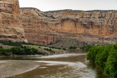 View of the Green River.
