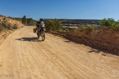 Tackling many more of the dirt roads in Dinosaur NM.