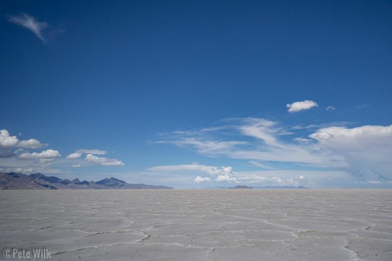 The vast expanses of the Salt Flats.