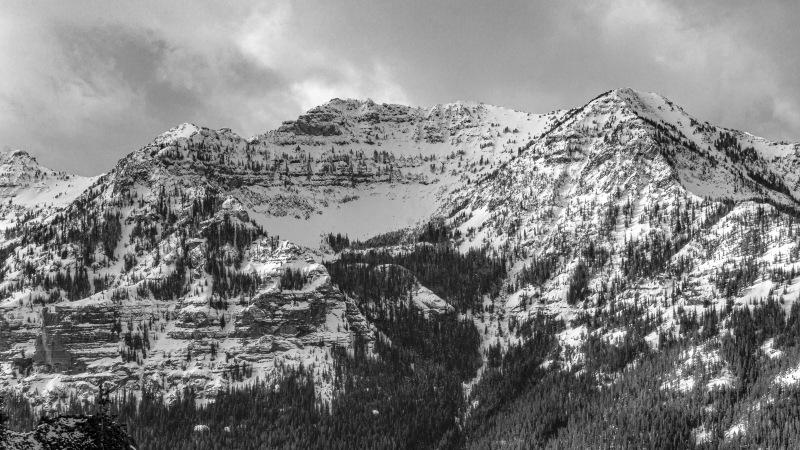 The wonderful views of Hyalite.